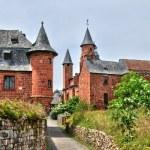 France, picturesque village of Collonges la Rouge — Stock Photo #38035451
