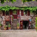 France, picturesque village of Collonges la Rouge — Stock Photo #38035585