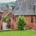 France, picturesque village of Collonges la Rouge — Stock Photo #38035629