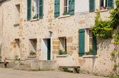 France, the picturesque city of Jouy le Moutier in Ile de France — Stock Photo