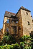 France, picturesque city of Sarlat la Caneda in Dordogne — Foto Stock