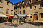 France, picturesque city of Sarlat la Caneda in Dordogne — Stockfoto