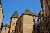 France, picturesque city of Sarlat la Caneda in Dordogne — Foto de Stock