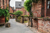 France, picturesque village of Collonges la Rouge — Stock fotografie