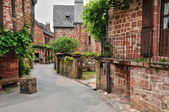 France, picturesque village of Collonges la Rouge — 图库照片