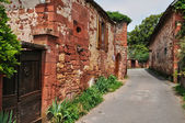 France, picturesque village of Collonges la Rouge — Foto Stock
