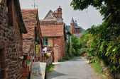 France, picturesque village of Collonges la Rouge — Foto de Stock