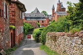 France, picturesque village of Collonges la Rouge — Stok fotoğraf