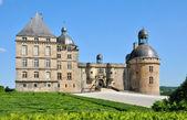 France, castle of Hautefort in Dordogne — Foto Stock