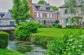 France, picturesque village of Ry in Seine Maritime — Stok fotoğraf