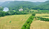 France, picturesque Dordogne valley in Perigord — ストック写真