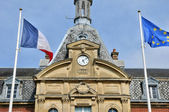 France, city hall of Cabourg in Normandie — Stock Photo