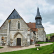 Stock Photo: France, historical church of Sigy en Bray