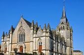 France, historical church of Le Pin la Garenne — Stock Photo