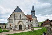 France, historical church of Sigy en Bray — Stock Photo