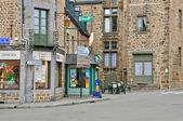 França, pitoresca aldeia de lassay les chateaux — Fotografia Stock