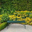 Stock Photo: Normandie, public garden in Giverny