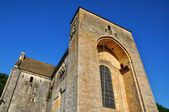 France, Saint Amand de Coly church in Dordogne — Foto Stock
