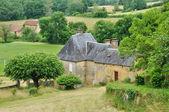 France, picturesque village of Salignac — Stock Photo