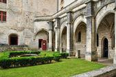 France, Brantome abbey church in Dordogne — Foto Stock