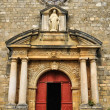 Stock Photo: France, Domme church in Perigord