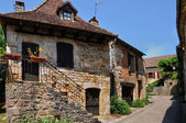France, picturesque village of Loubressac — Foto Stock