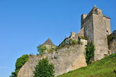 France, picturesque castle of Salignac — Stock Photo