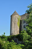 France, picturesque castle of Salignac — Stock Photo