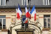 França, a pitoresca cidade de triel sur seine — Fotografia Stock