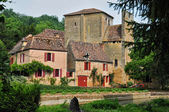 France, picturesque village of Urval — Stock Photo
