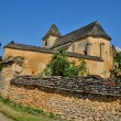 Stock Photo: France, Carlucet church in Perigord