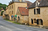 France, picturesque village of Aillac — Stock Photo