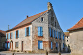 France, village of Jambville in Ile de France — Foto Stock