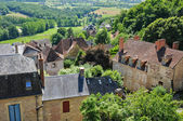 France, the picturesque village of Hautefort — Stock Photo