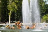 Francia, la fontana di apollo nel parco del palazzo di versailles — Foto Stock