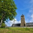 Stock Photo: France, Courtils church in Normandie