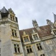 France, renaissance castle of Puyguilhem in Dordogne — Stock Photo