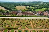 France, the picturesque village of Hautefort — Foto Stock