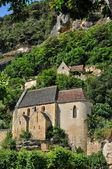 France, La Roque Gageac church in Perigord — Stock Photo