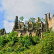 France, middle age castle du Paluel in Dordogne — Stock Photo
