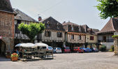 France, picturesque village of Bretenoux in Lot — Stock Photo