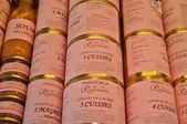 France, speciality of Perigord on the market — Stock Photo