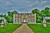 Francie, hrad canon v normandie — Stock fotografie