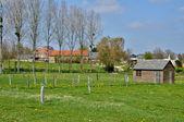 France, picturesque village of Sainte Honorine la Guillaume — Stock Photo