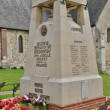 France, war memorial of Perriers sur Andelle — Stock Photo #39968309