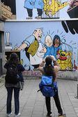 Belgie, malebné město brusel — Stock fotografie