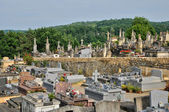 France, cemetery of the village of Domme in Perigord — Stock Photo
