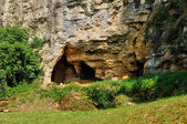 Perigord, caves in the village of Cuzorn in Lor et Garonne — Stock Photo