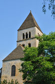 France, Saint Leon sur Vezere church in Perigord — Stock Photo