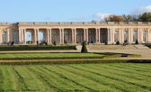 France, the Marie Antoinette estate in the parc of Versailles Pa — Stock Photo
